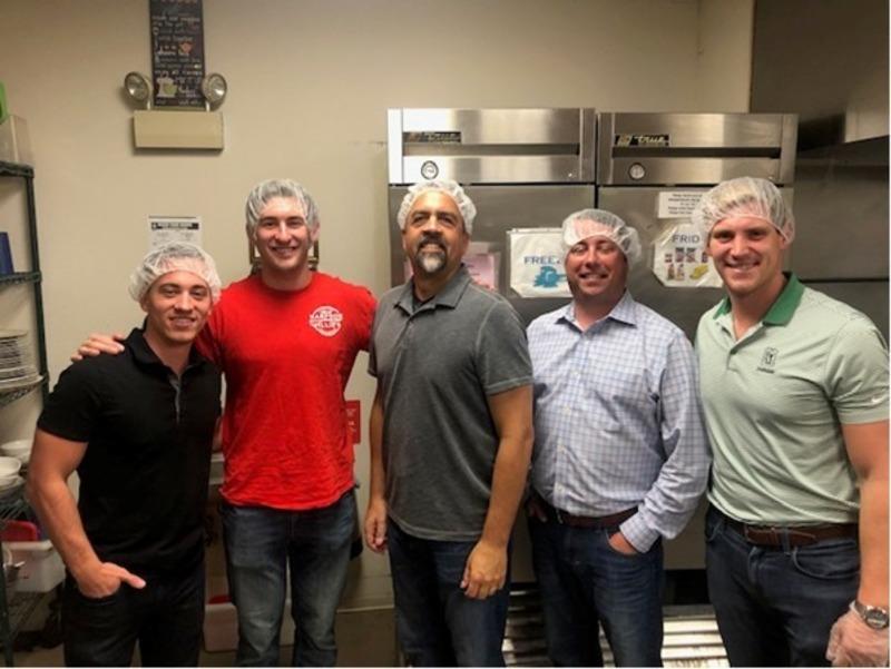 Breakthrough Men's Center Dinner Service