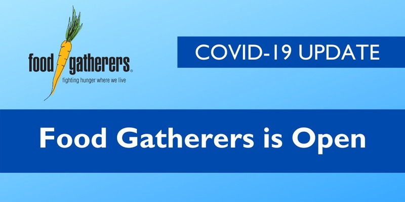 Help Food Gatherers Meet the Need