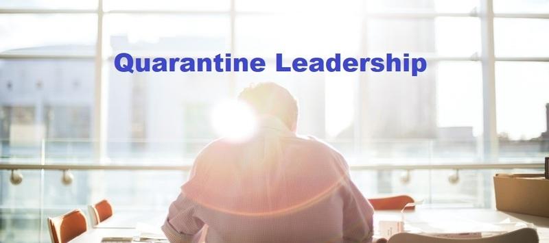 Webinar: Quarantine Leadership