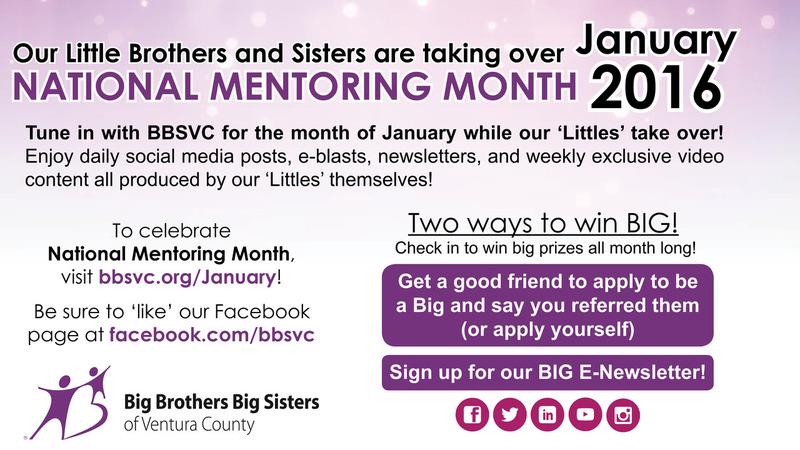 National Mentoring Month 2016