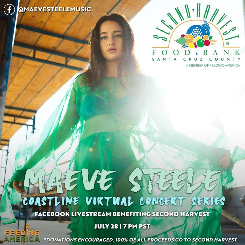 Maeve Steele Coastline Virtual Benefit Concert Series