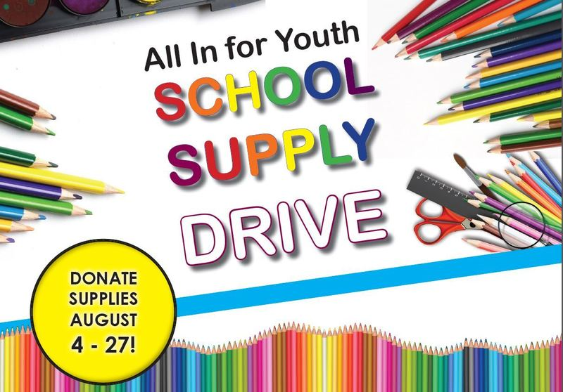 2020 - Canadian Natural - All In For Youth School Supply Drive