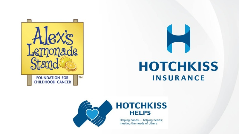 Hotchkiss Helps supporting Alex's Lemonade Stand Foundation