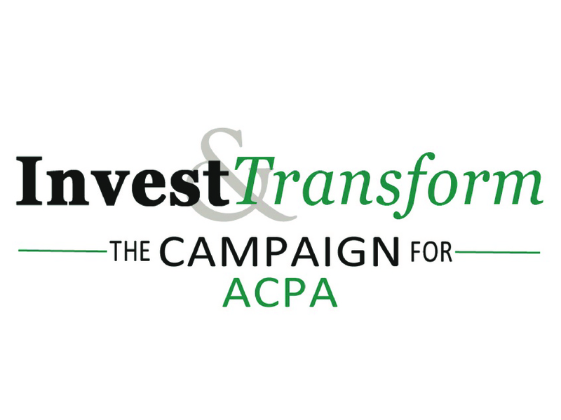 ACPA Foundation Invest & Transform Campaign
