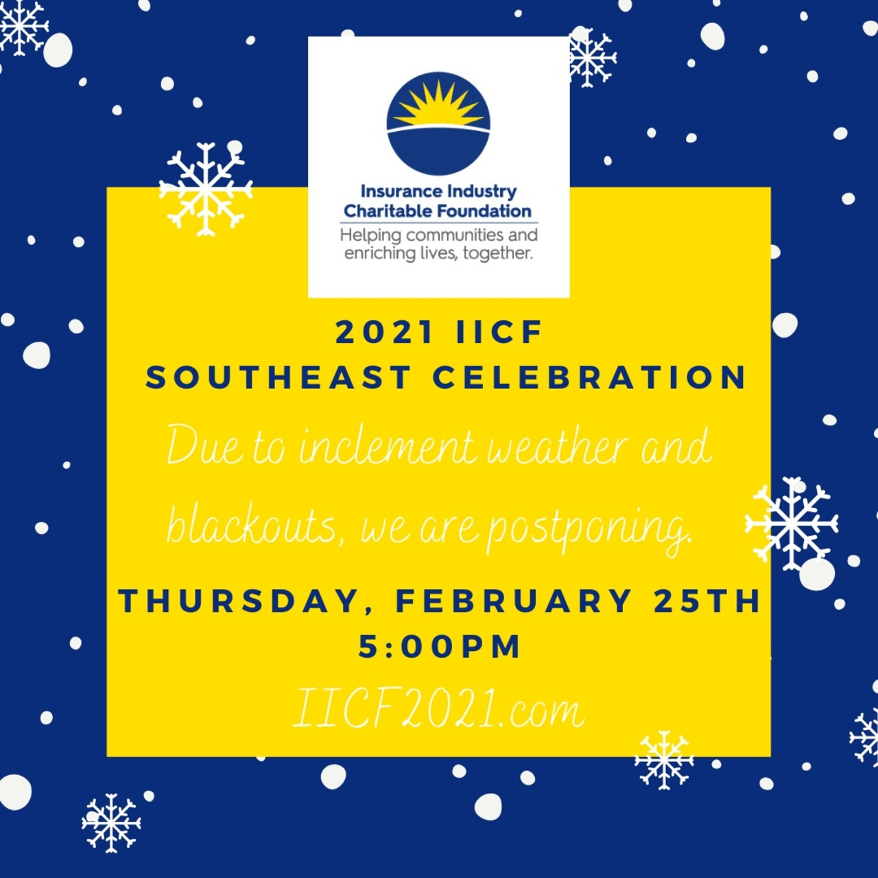 9th Annual IICF Southeast Virtual Celebration