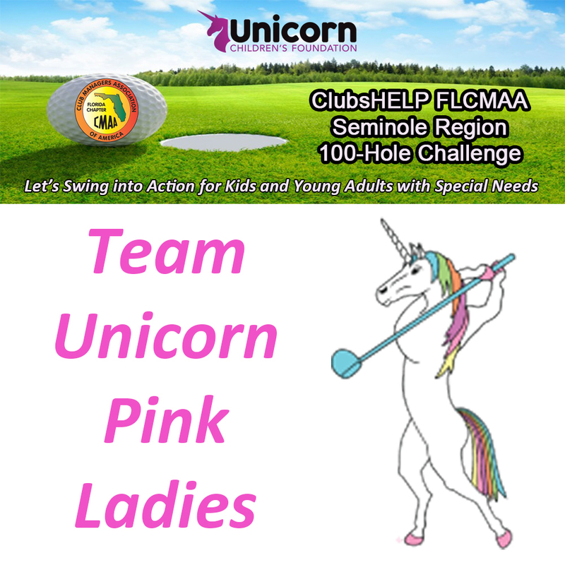 Team Unicorn Pink Ladies