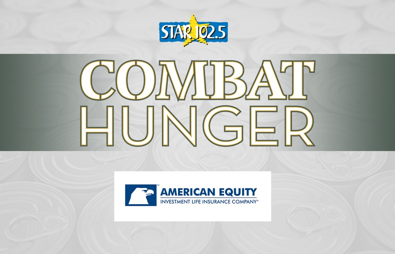 STAR 102.5's 2020 Combat Hunger
