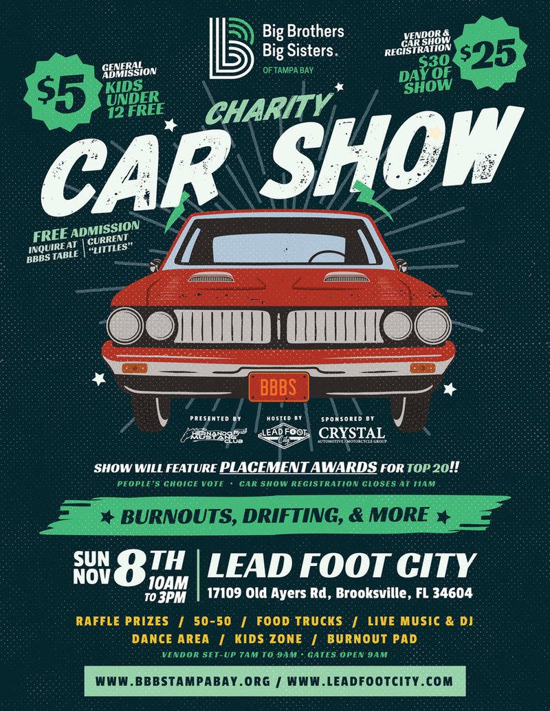 Big Brothers Big Sisters Charity Car Show