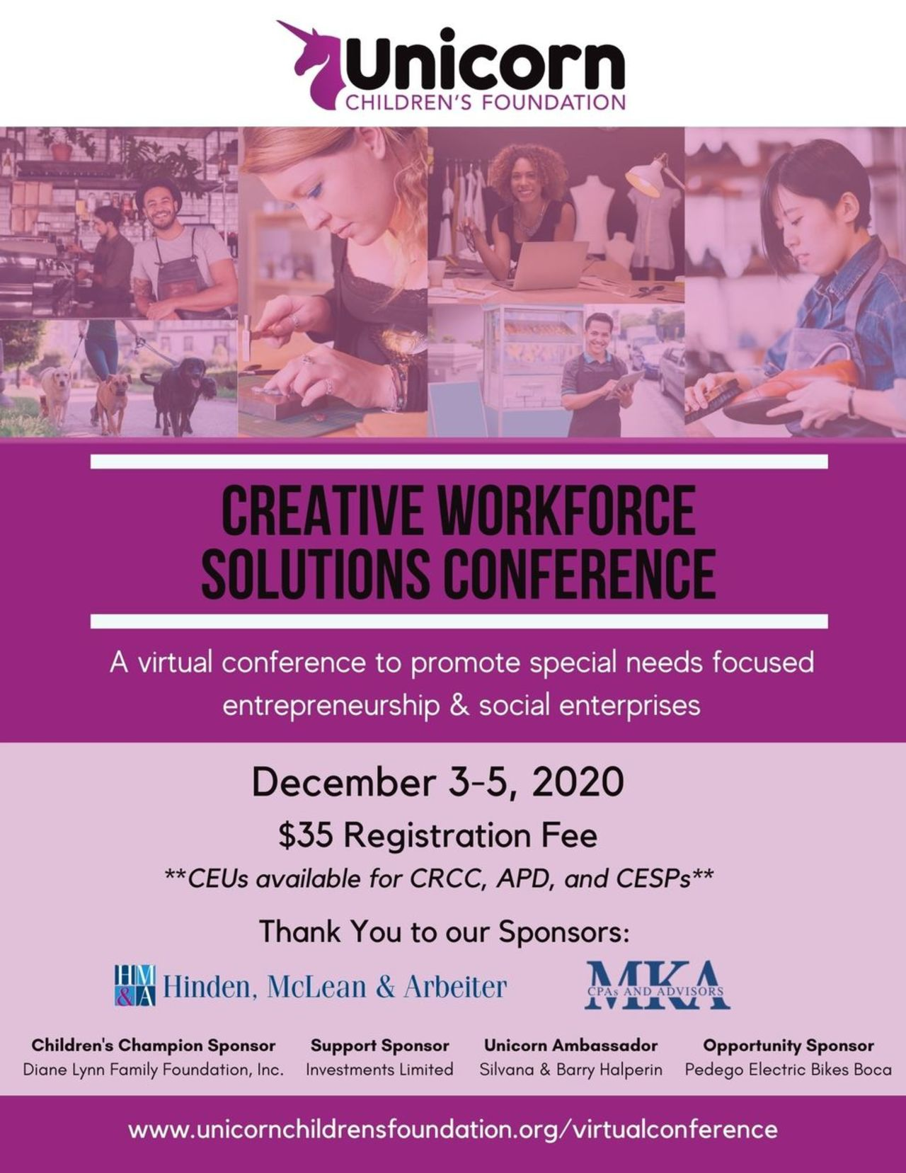 Creative Workforce Solutions Conference
