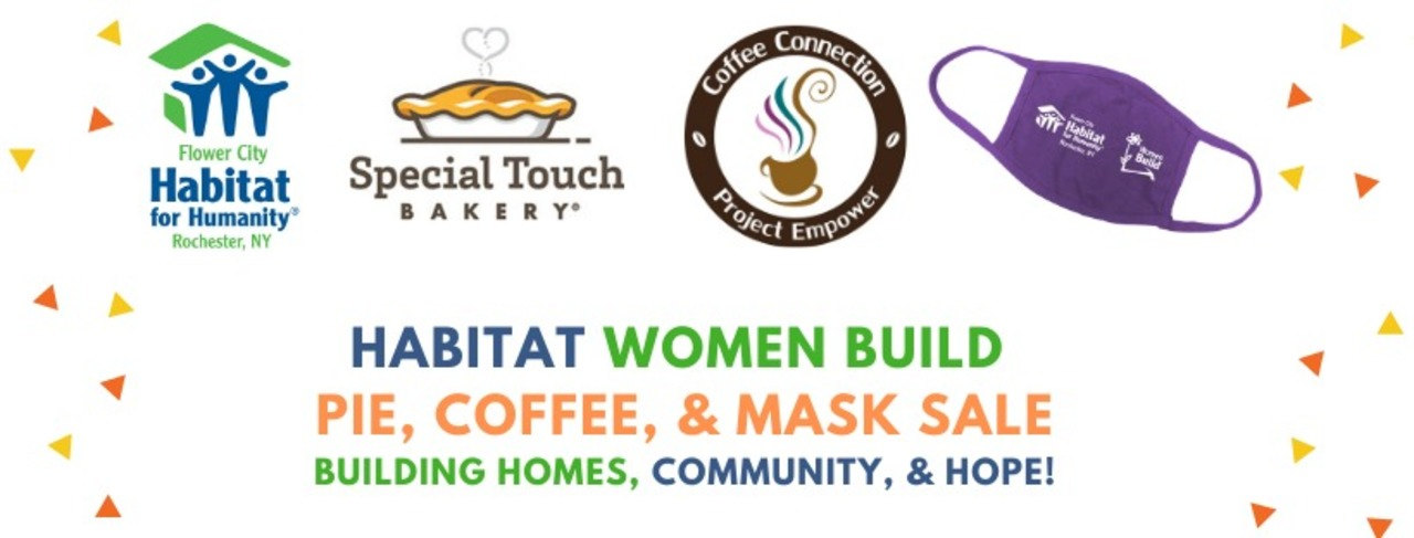 Women Build Pie & Coffee Sale 2020