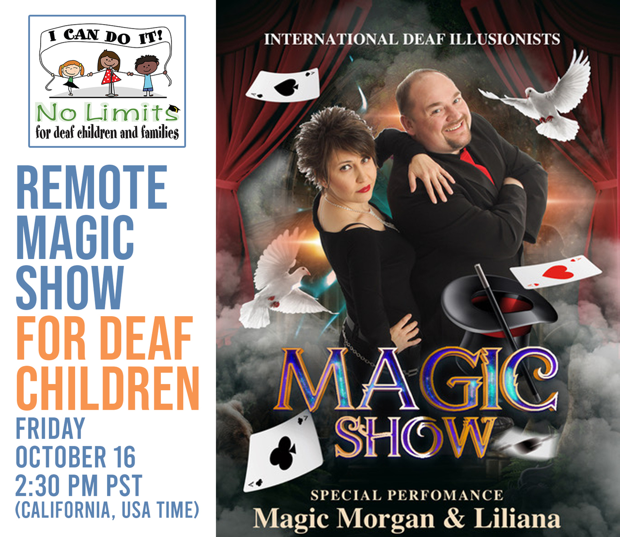 No Limits Deaf Magic Show!