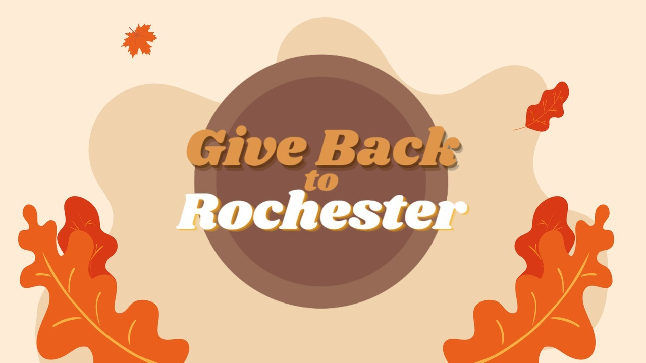 Give Back to Rochester Month