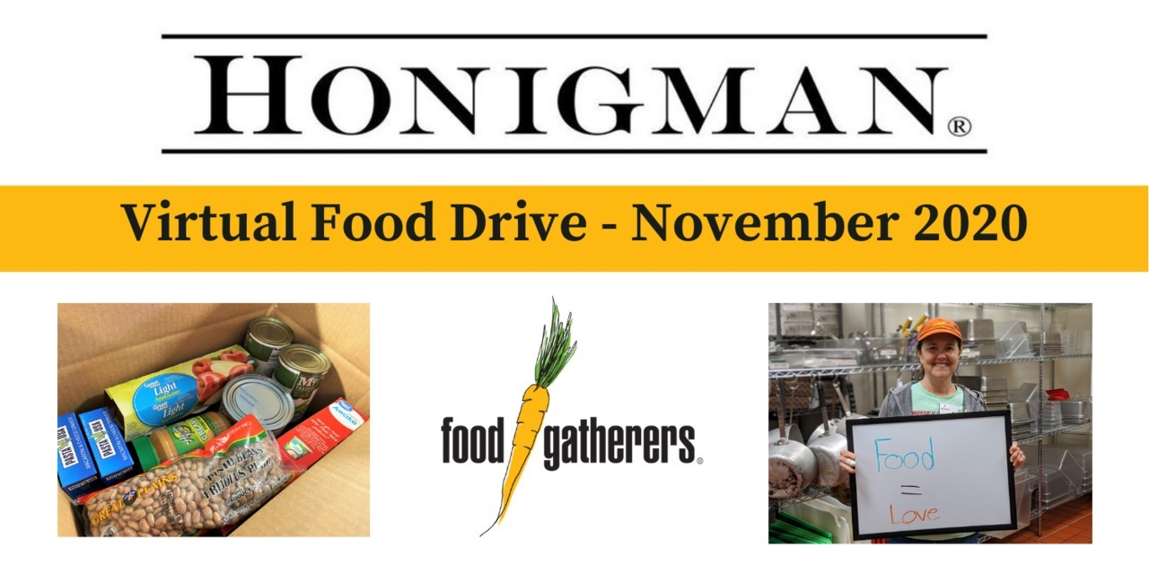 Honigman 2020 Virtual Food Drive