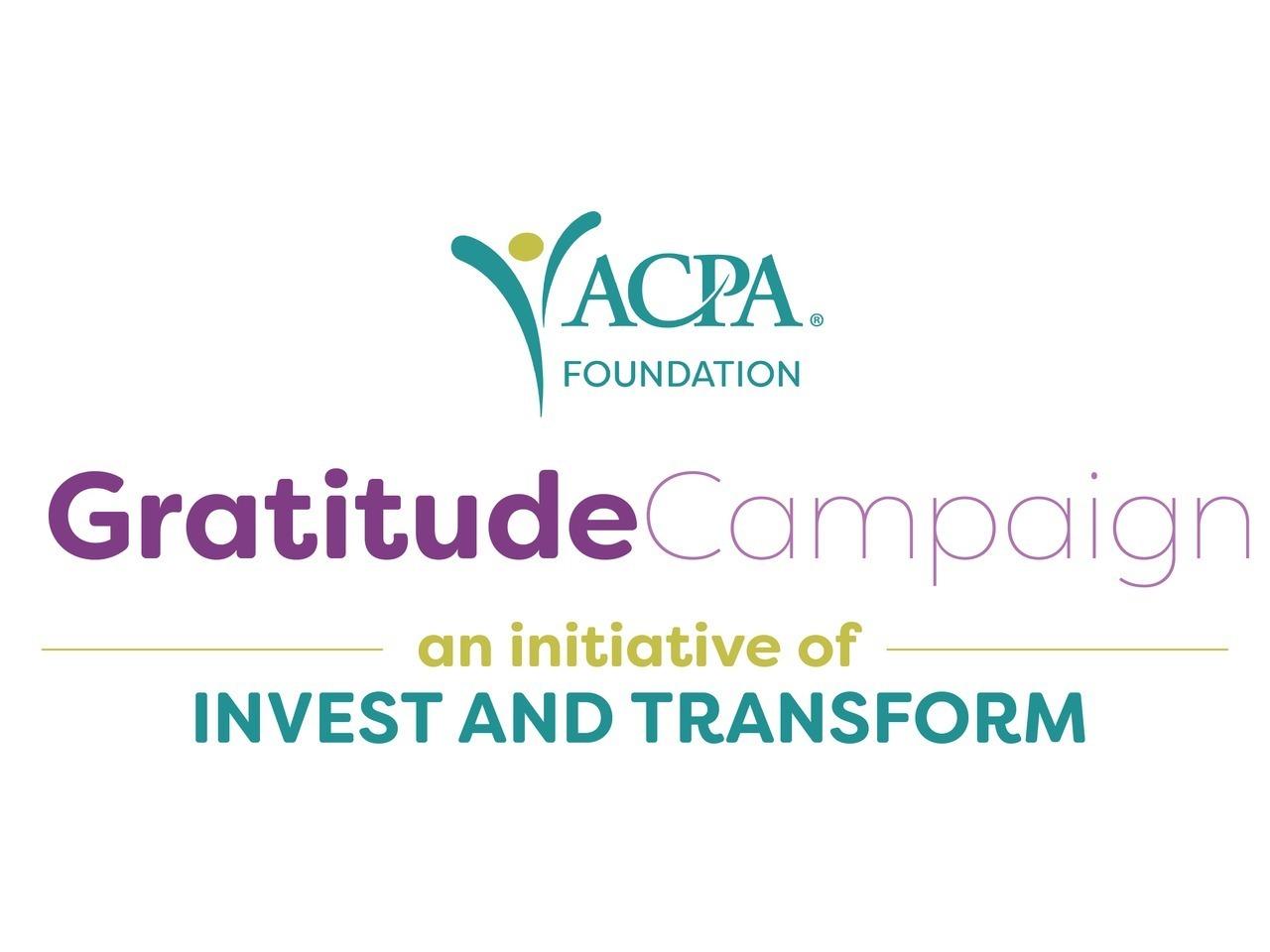 The 2020 Gratitude Campaign
