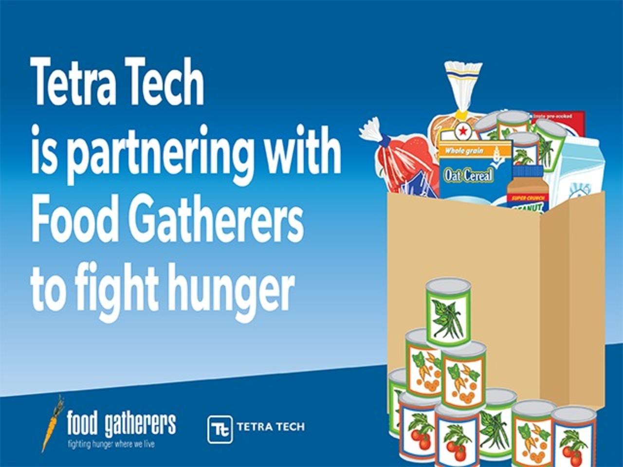 Tetra Tech 2020 Food Drive