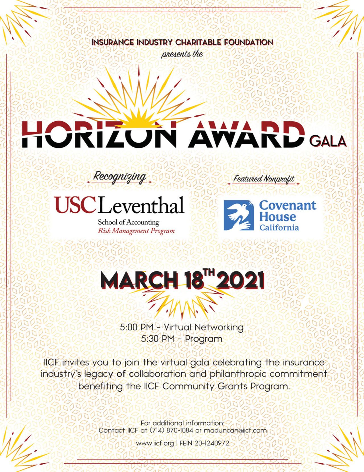 IICF Horizon Award Gala