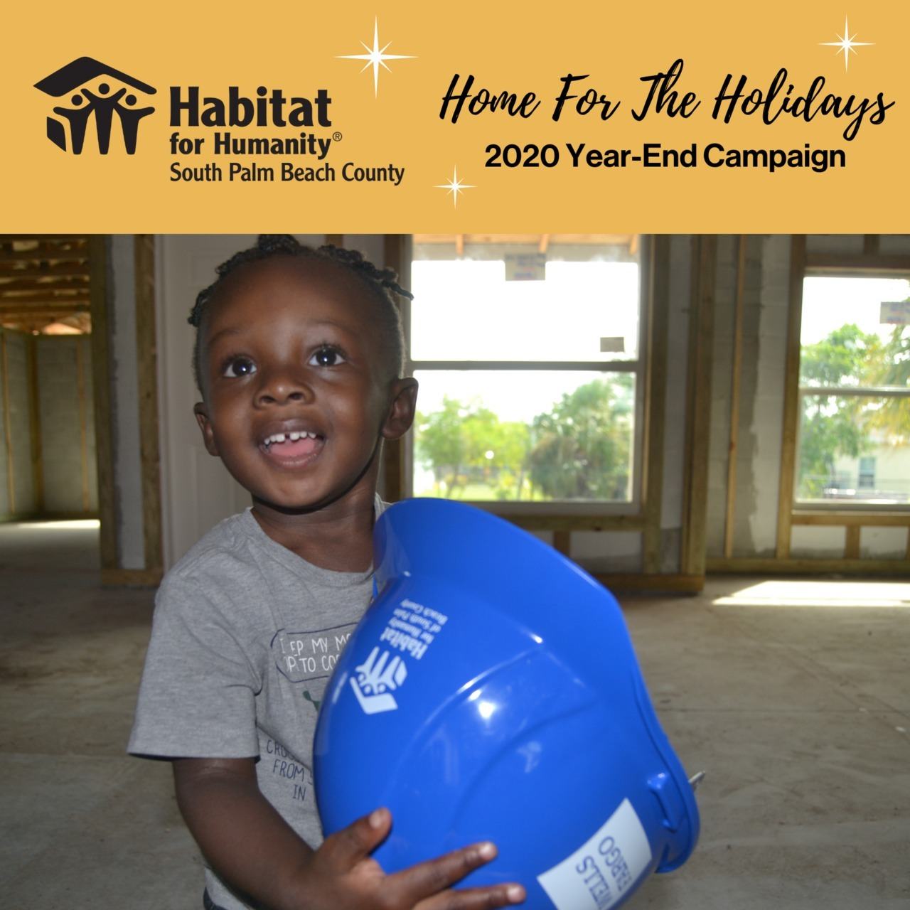 """""""Home For The Holidays"""" 2020 Year-End Campaign"""