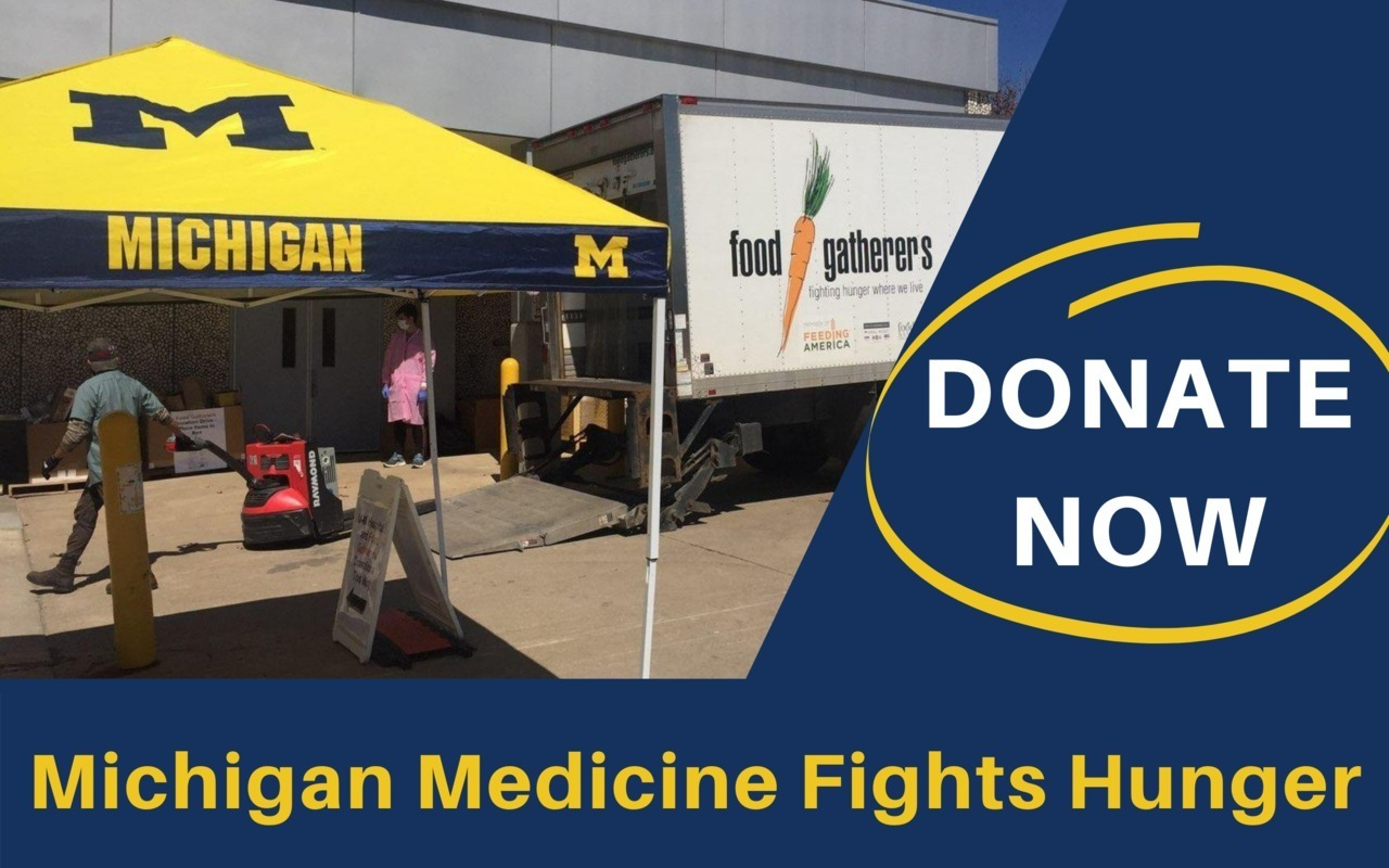 Michigan Medicine Winter Fund Drive for Food Gatherers