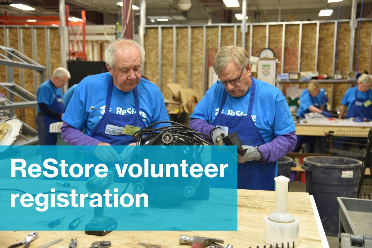2021 Restore Volunteer Registration
