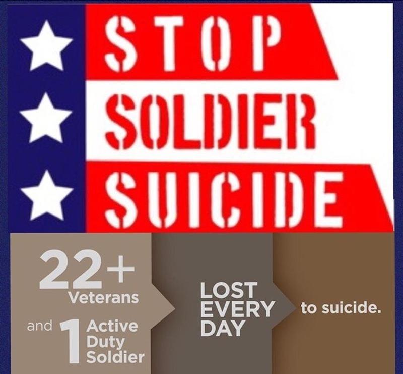 Stop Soldier Suicide - Team Ledlow