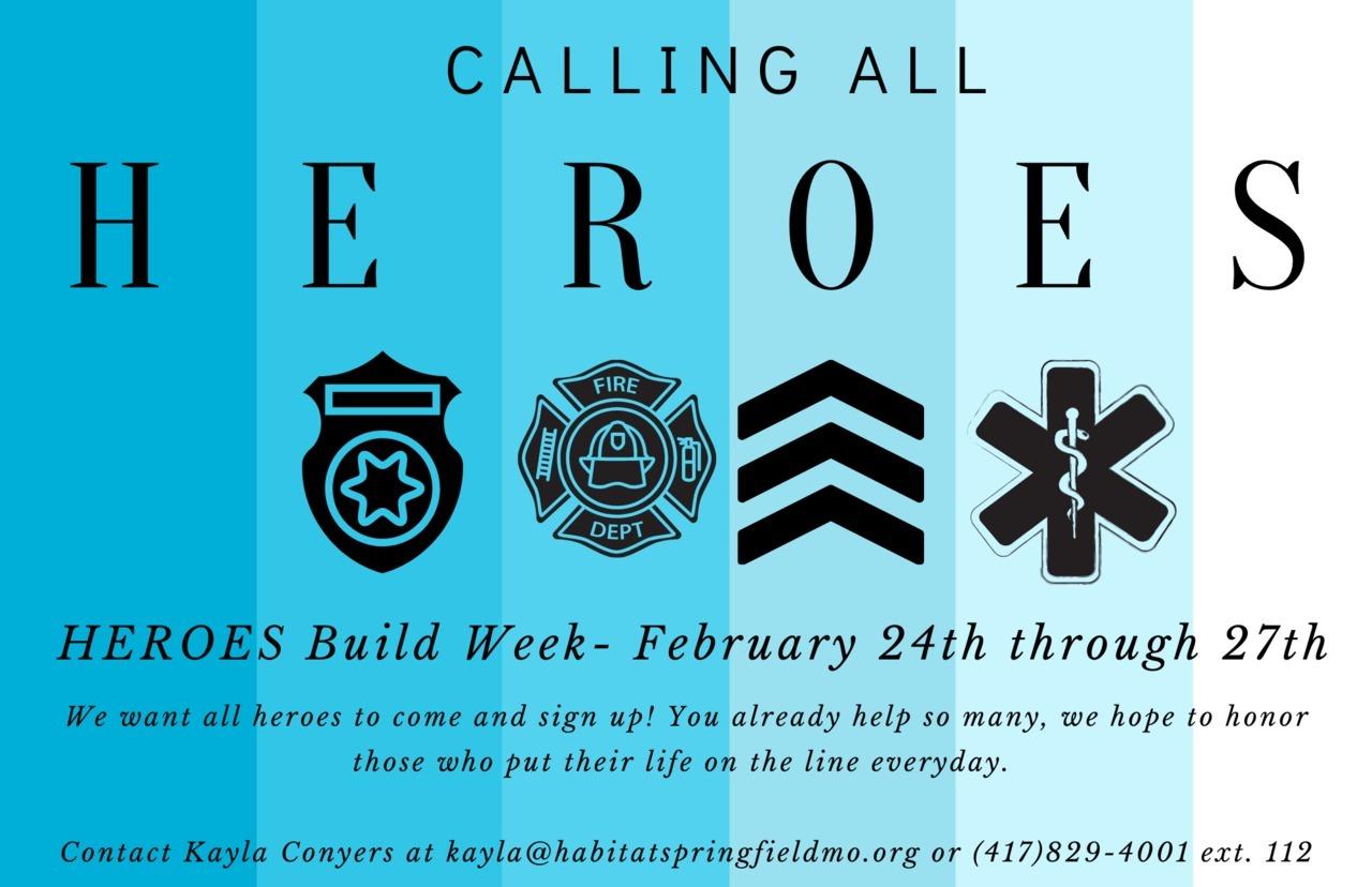Heroes Build Week