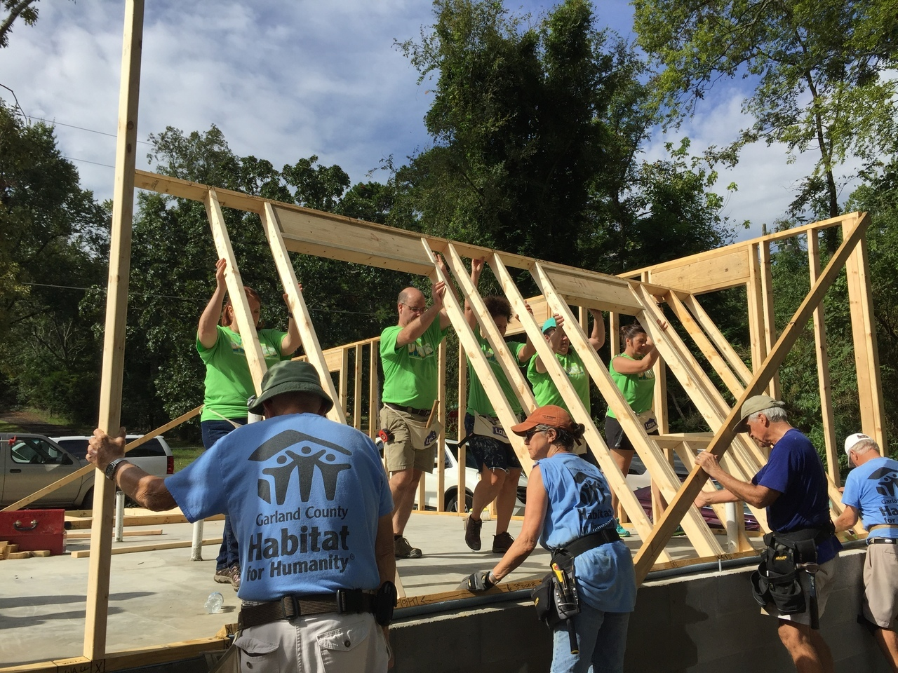 Regular Construction Volunteers