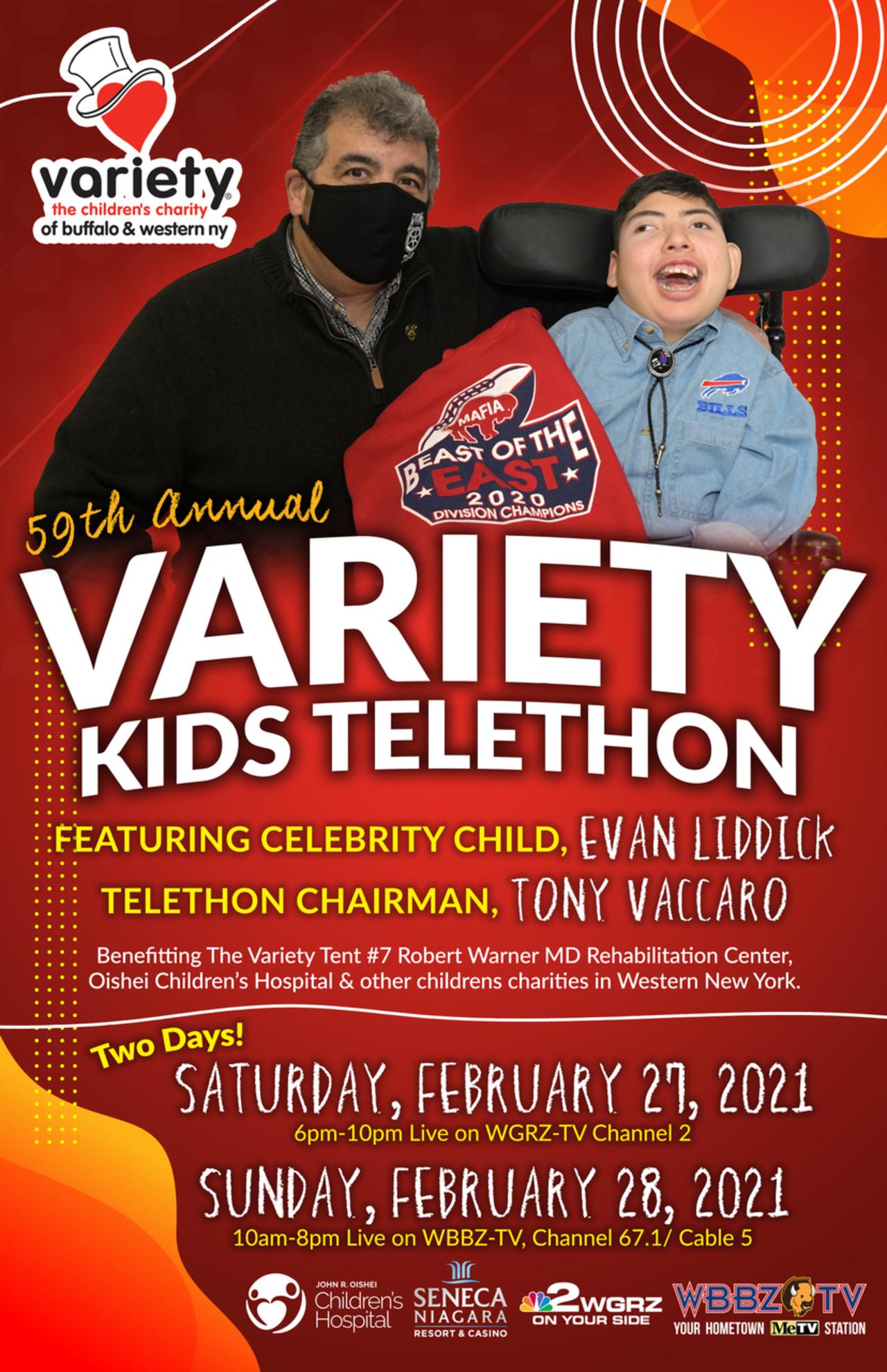 BTF DONATIONS-2021 Variety Kids Telethon