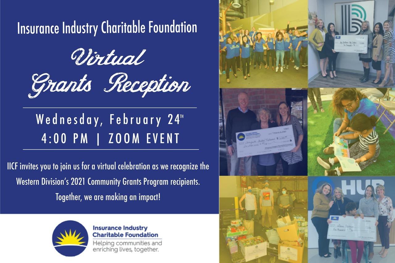 IICF ITC Virtual Grants Reception