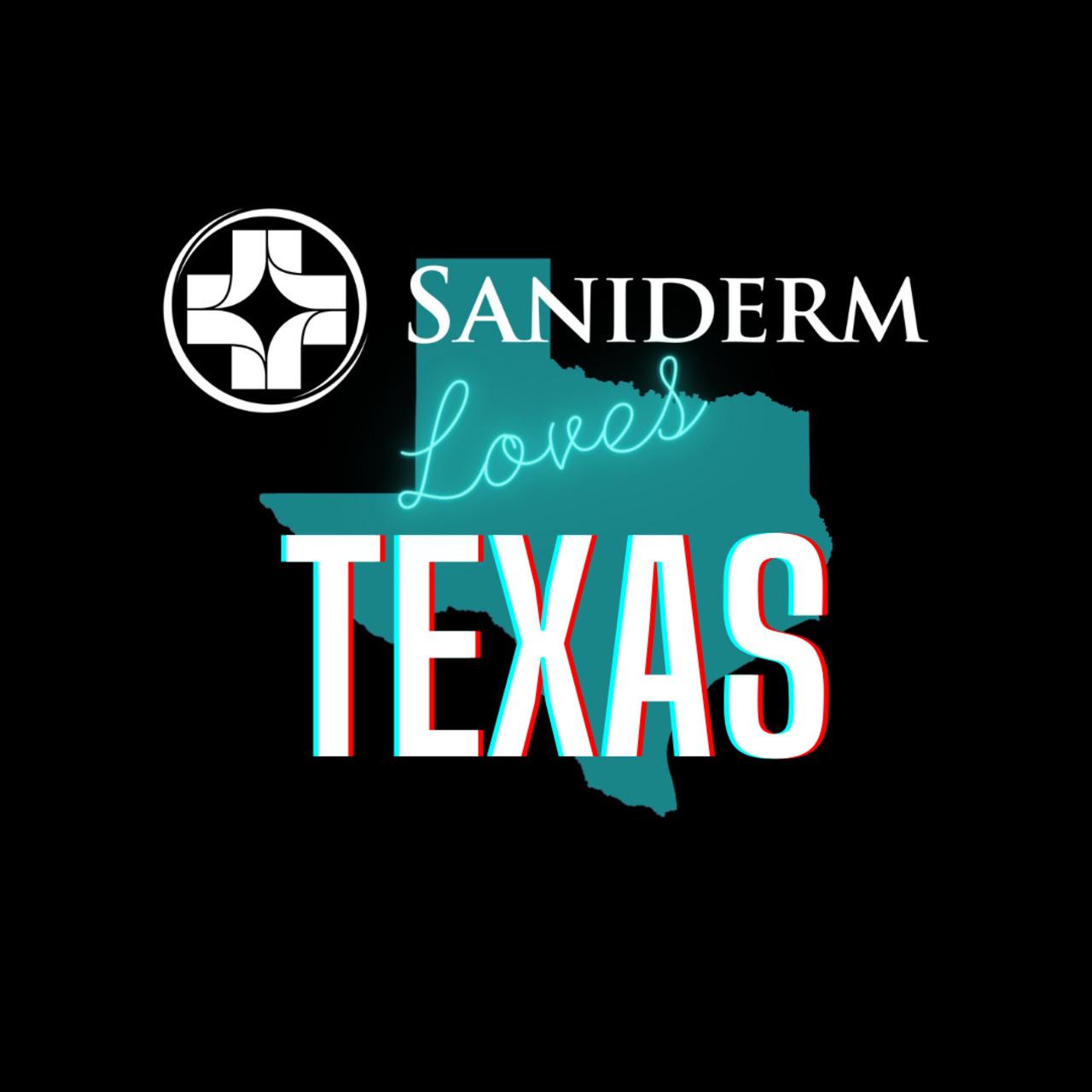 Saniderm Loves Texas!