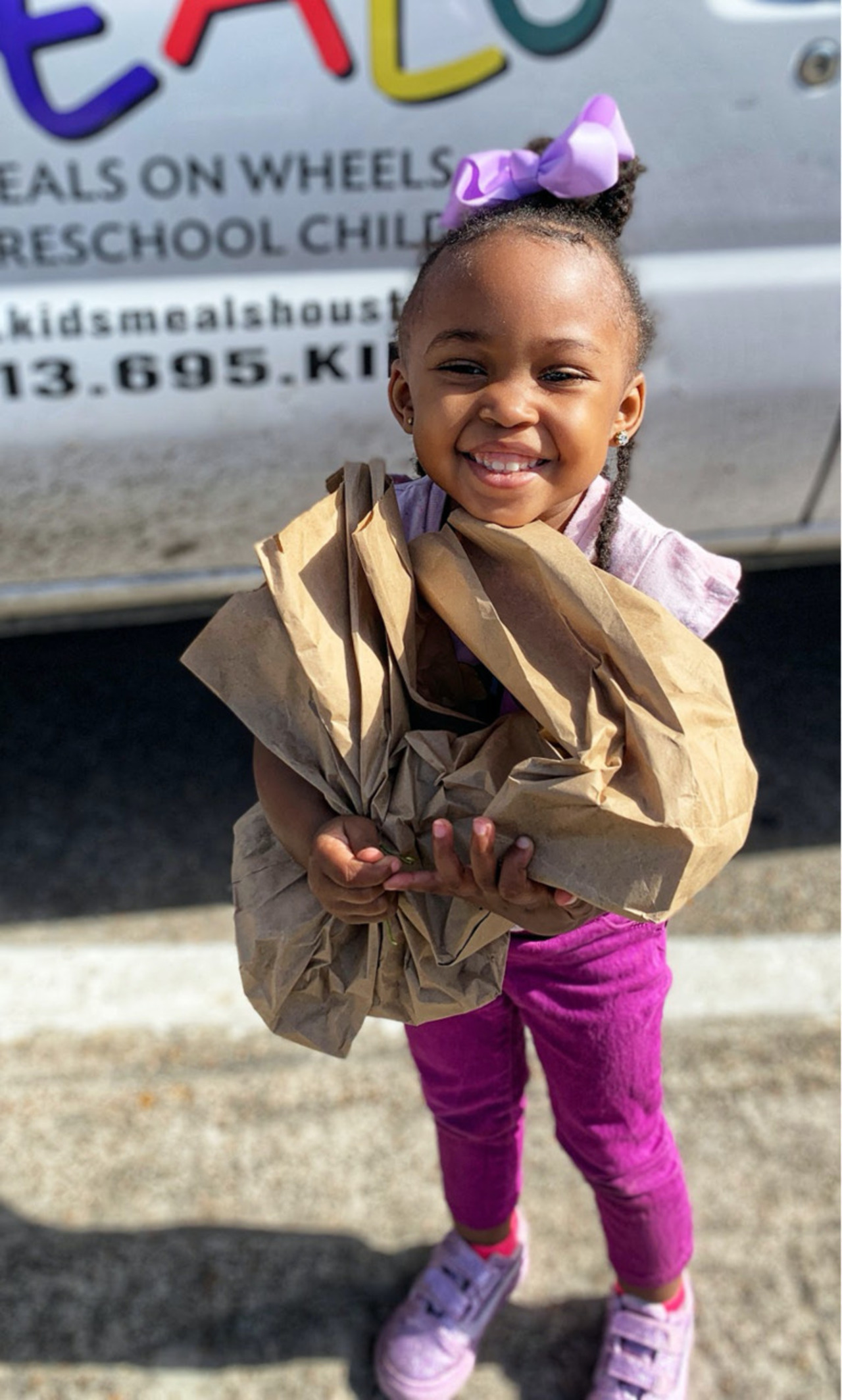 Annie and friends Gives Back to Kids' Meals