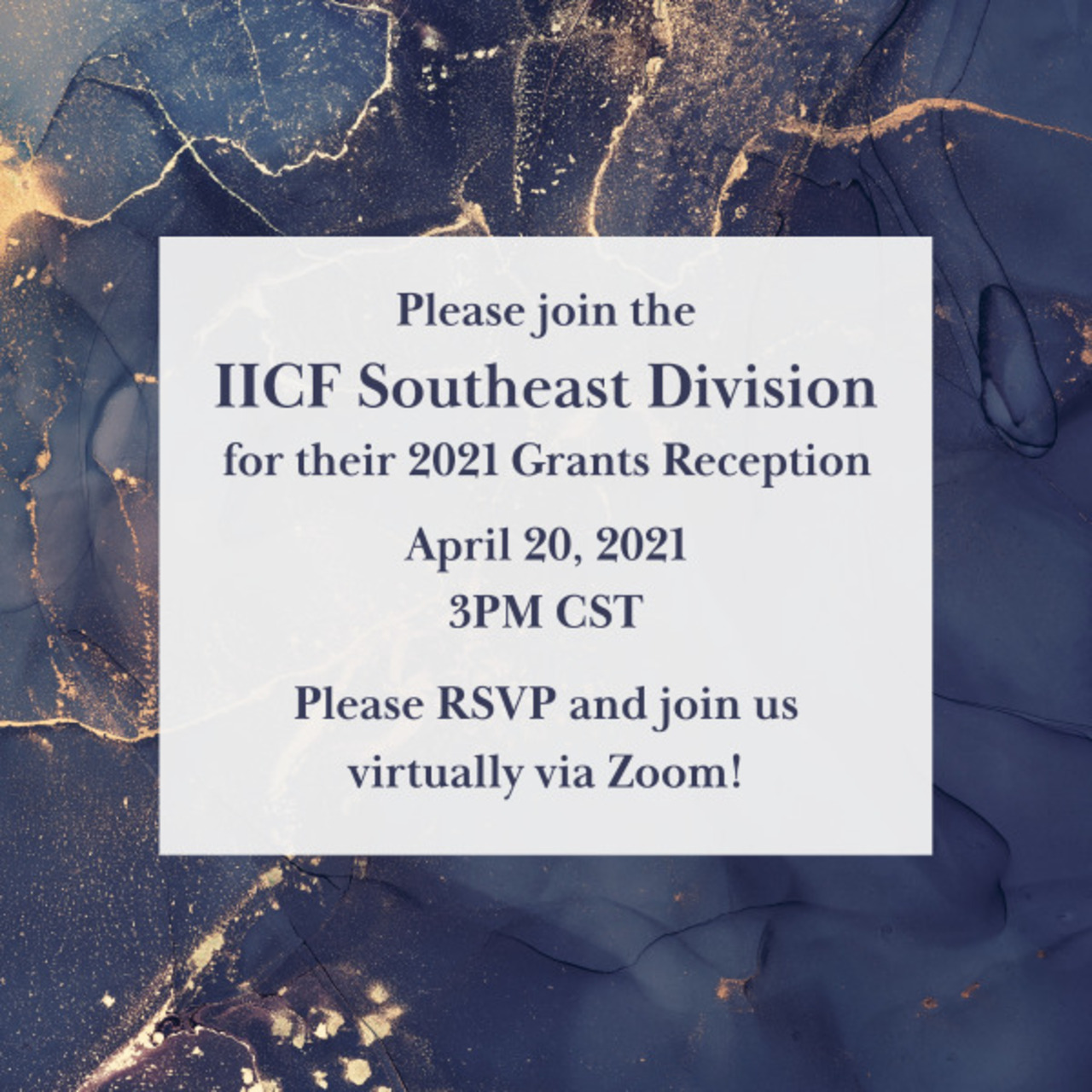 IICF Southeast Division 2021 Grants Reception