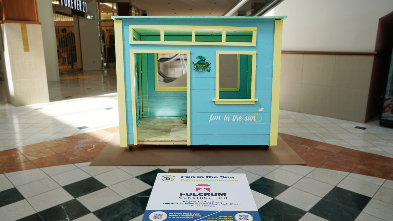 Win a Playhouse! Buy a Ticket.