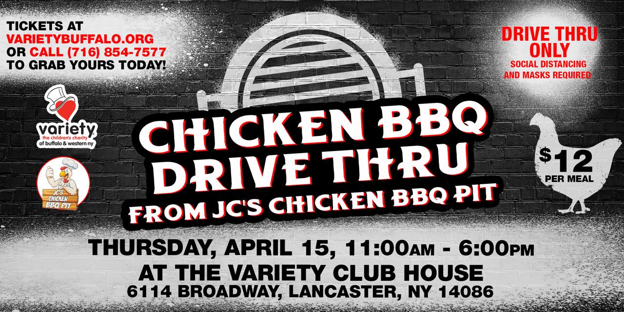 Chicken BBQ Drive Thru!