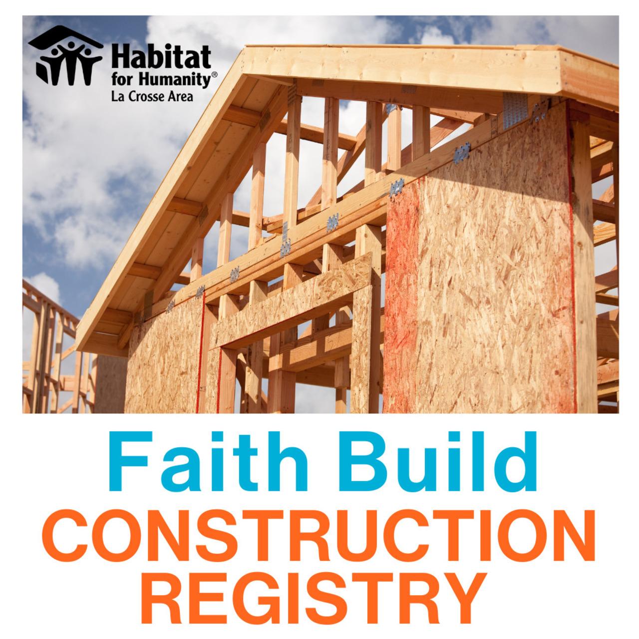 Faith Build Construction Registry