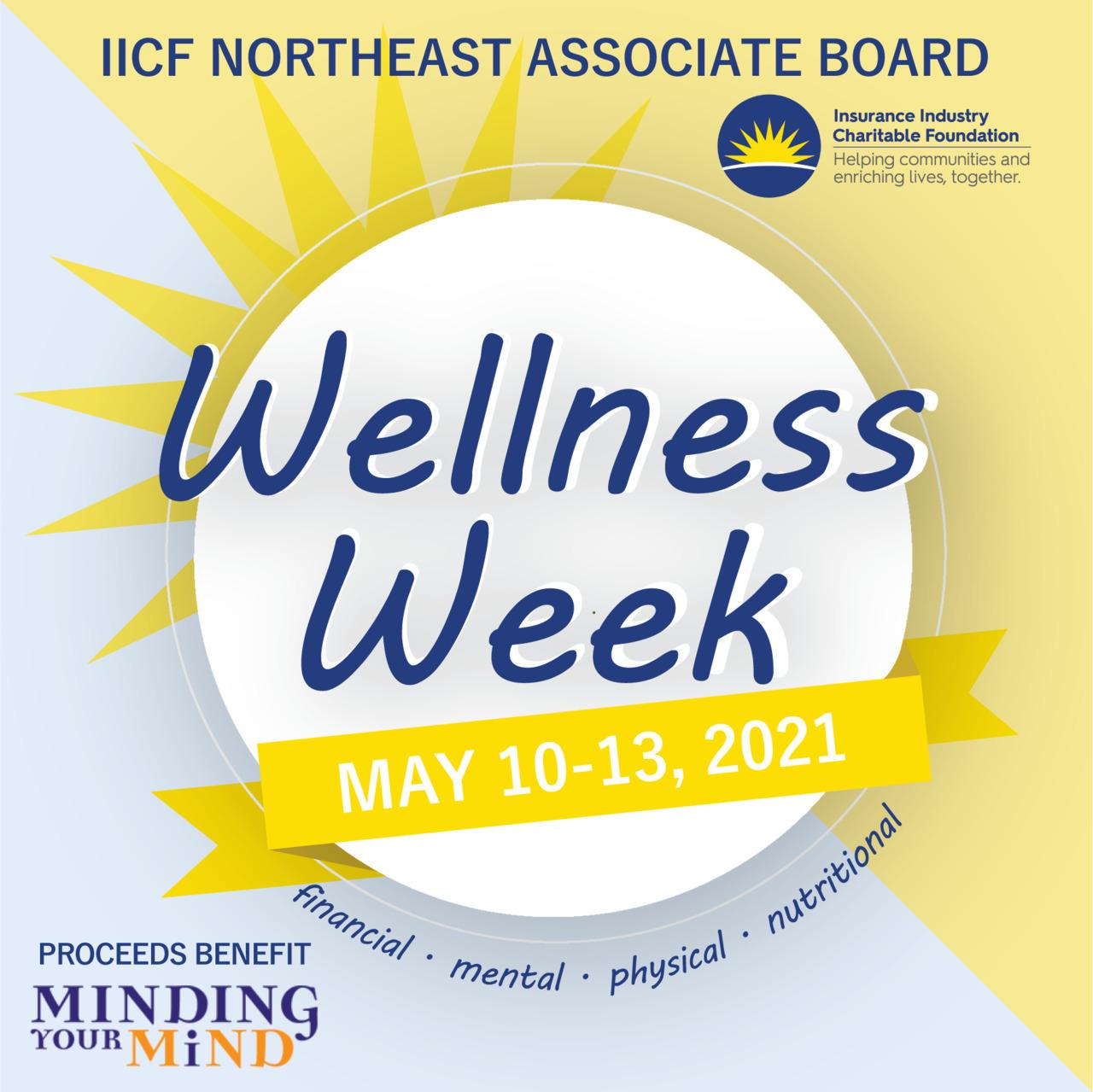 IICF NE Associate Board Wellness Week