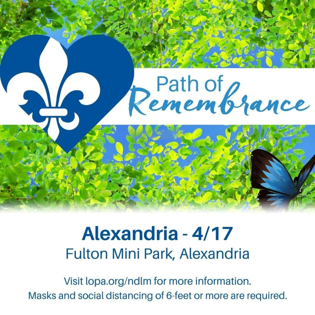 Alexandria Path of Remembrance 2021