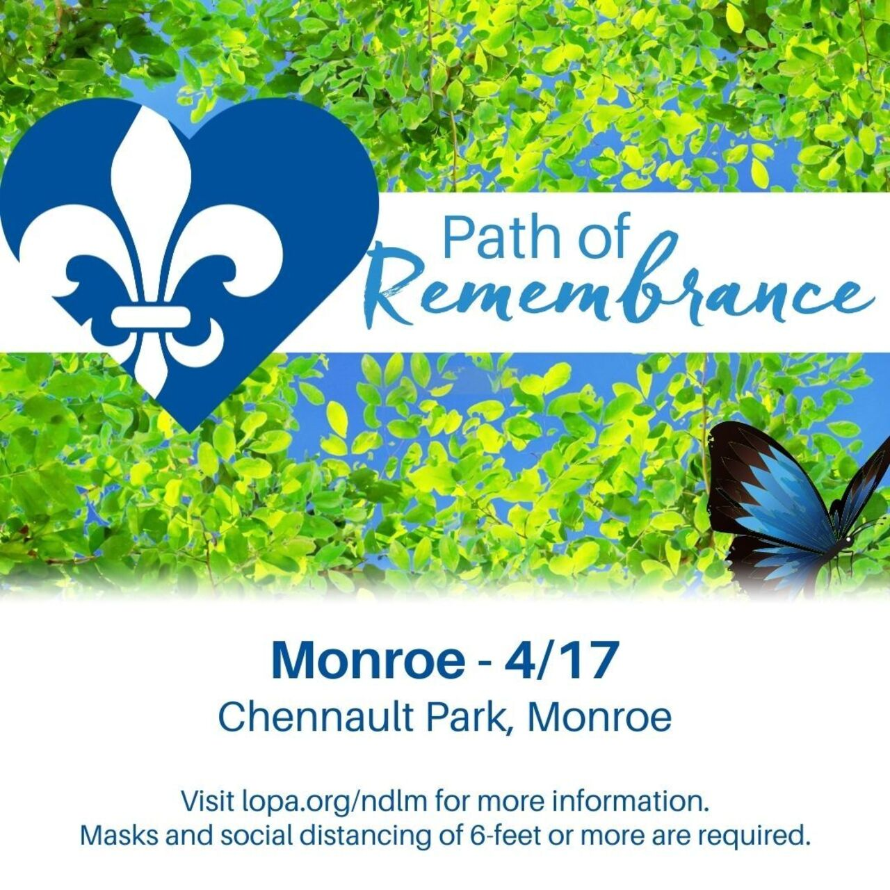 Monroe Path of Remembrance 2021