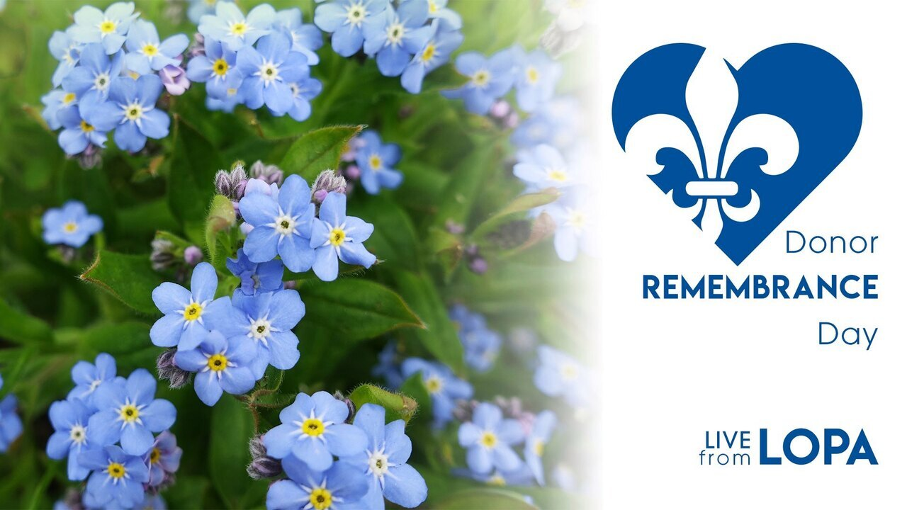 Donor Remembrance Day - Virtual Ceremony