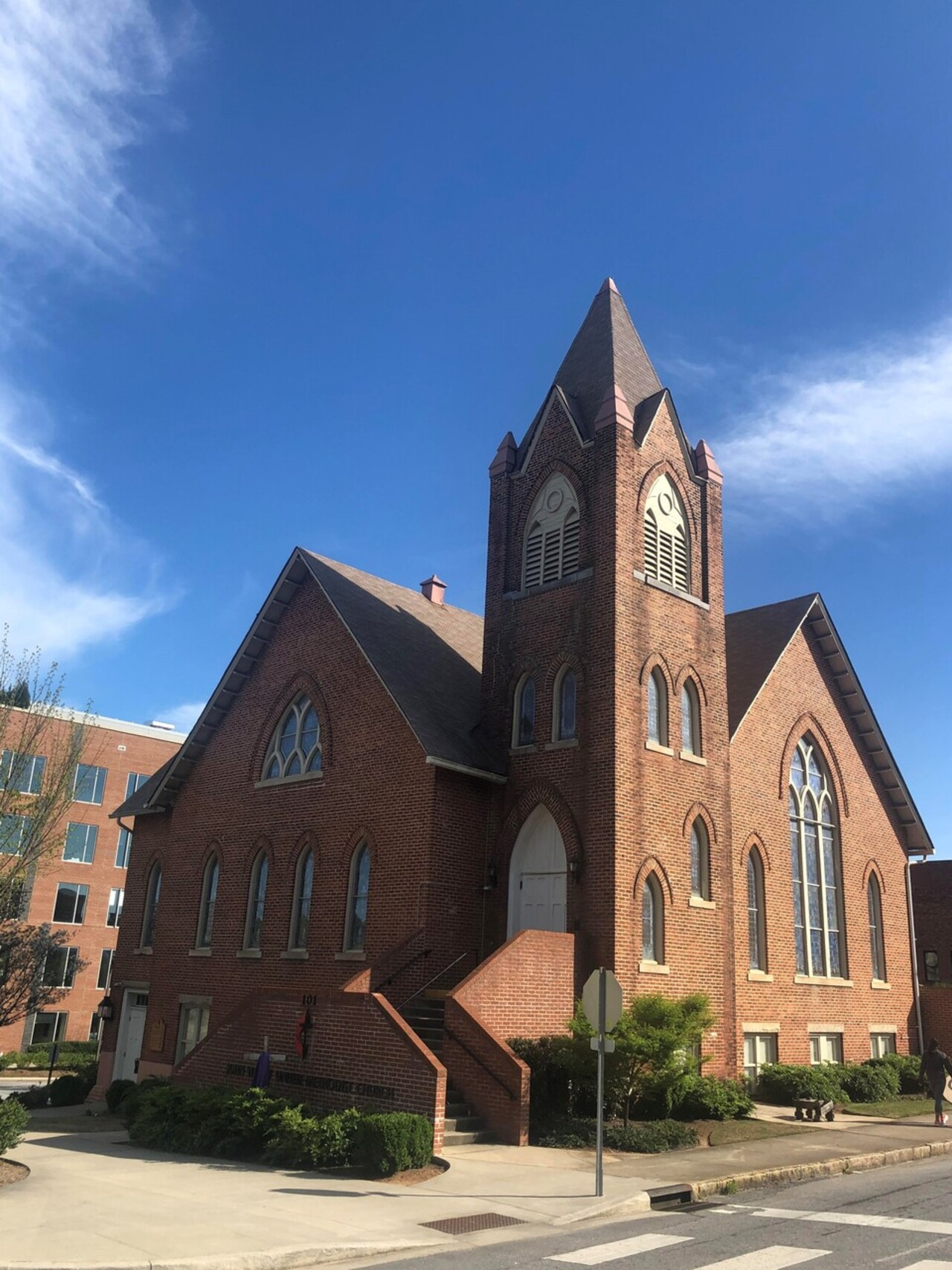 John Wesley United Methodist Church Supports Harvest Hope Food Bank