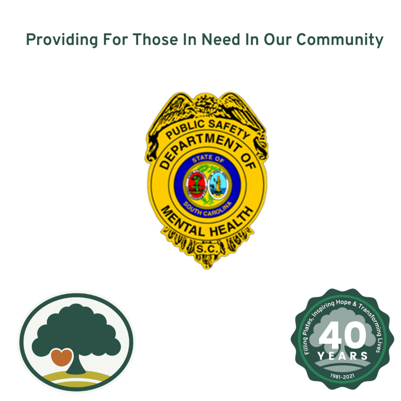 SCDMH Public Safety Division Supports Harvest Hope Food Bank