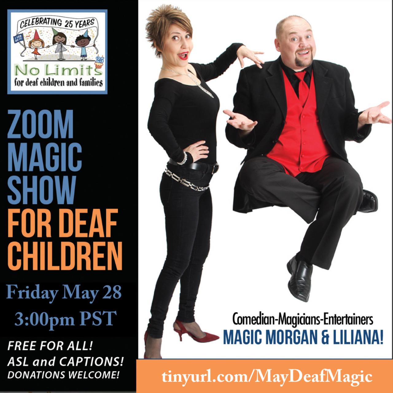 No Limits Deaf Magic Show-May 28