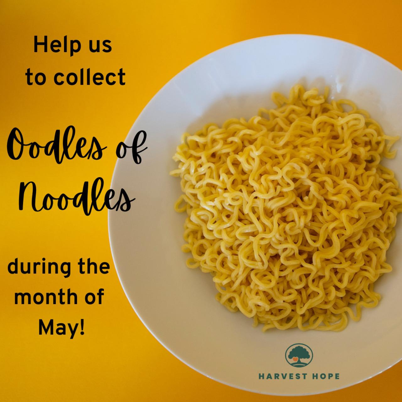 Oodles of Noodles Drive for Harvest Hope