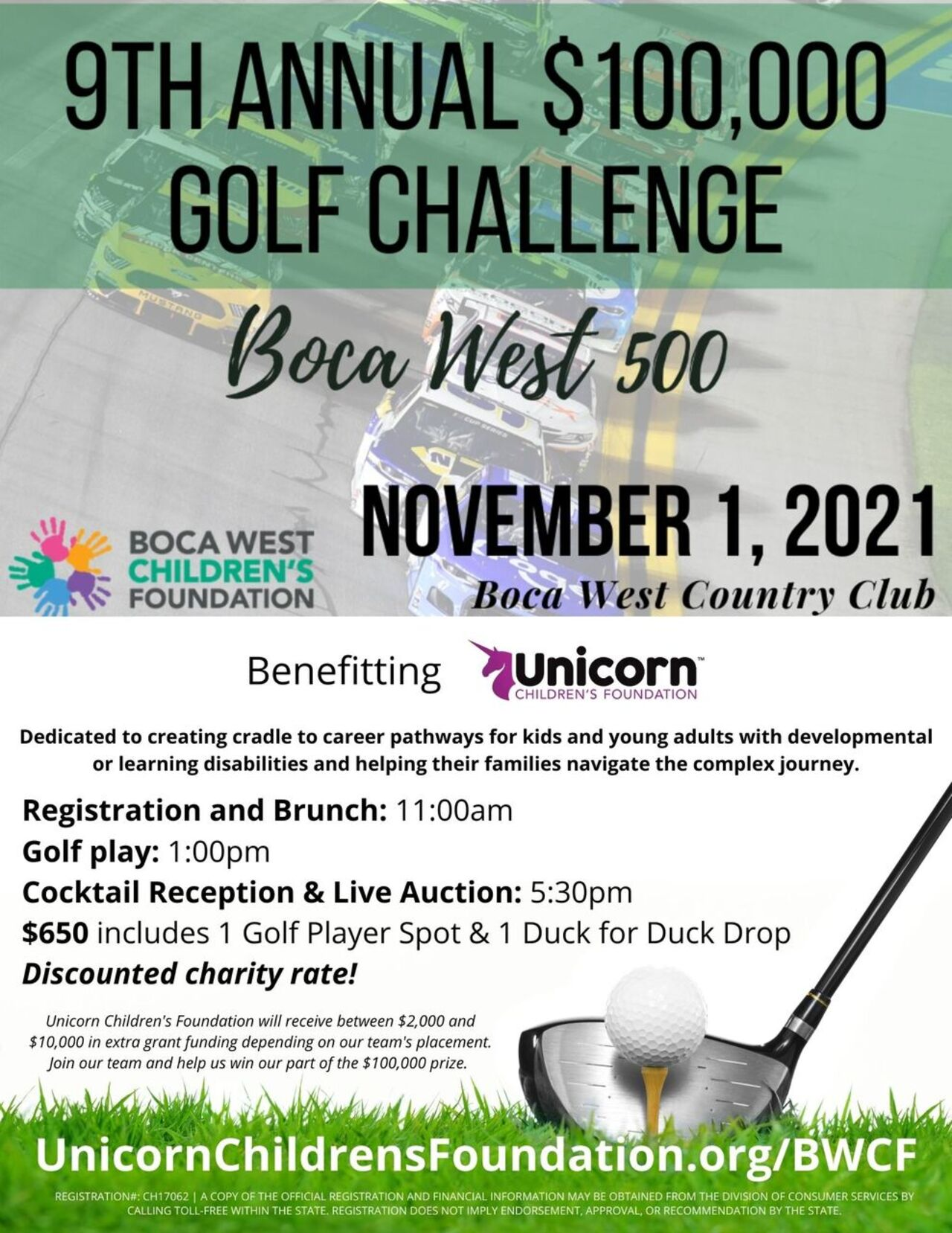 9th Annual $100,000 Golf Challenge