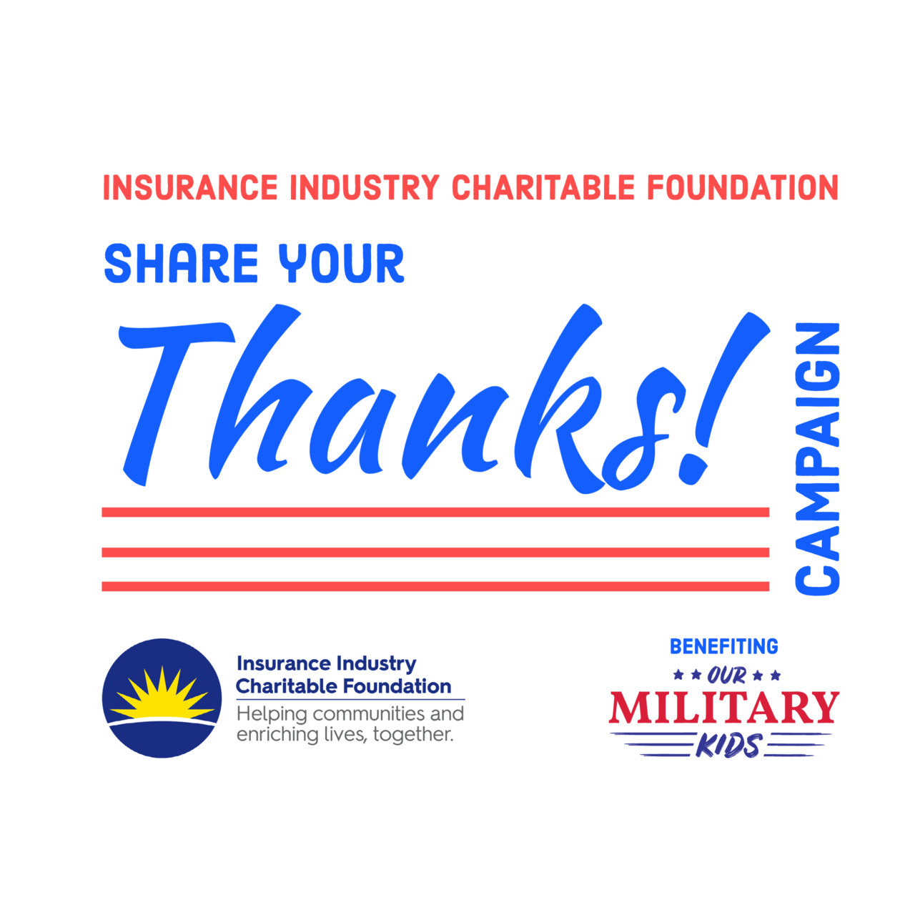 IICF Share Your Thanks Campaign