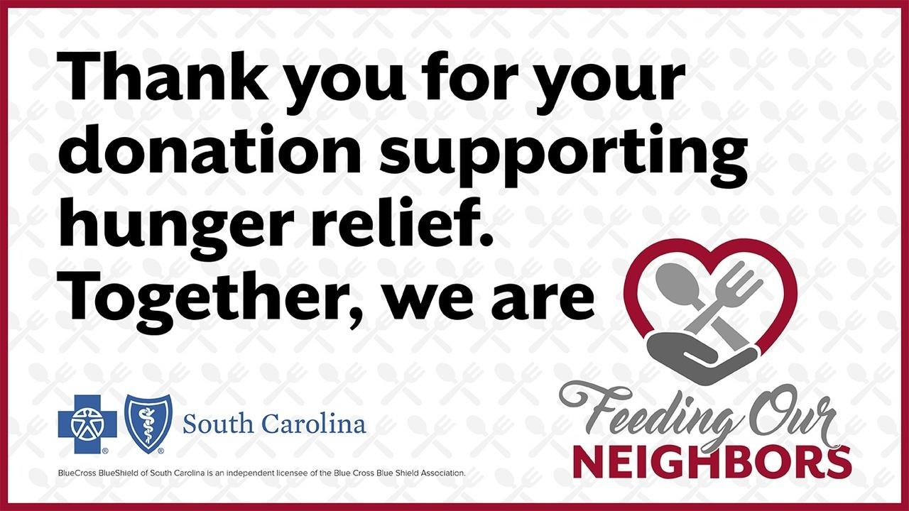 BlueCross BlueShield of South Carolina is Feeding Our Neighbors