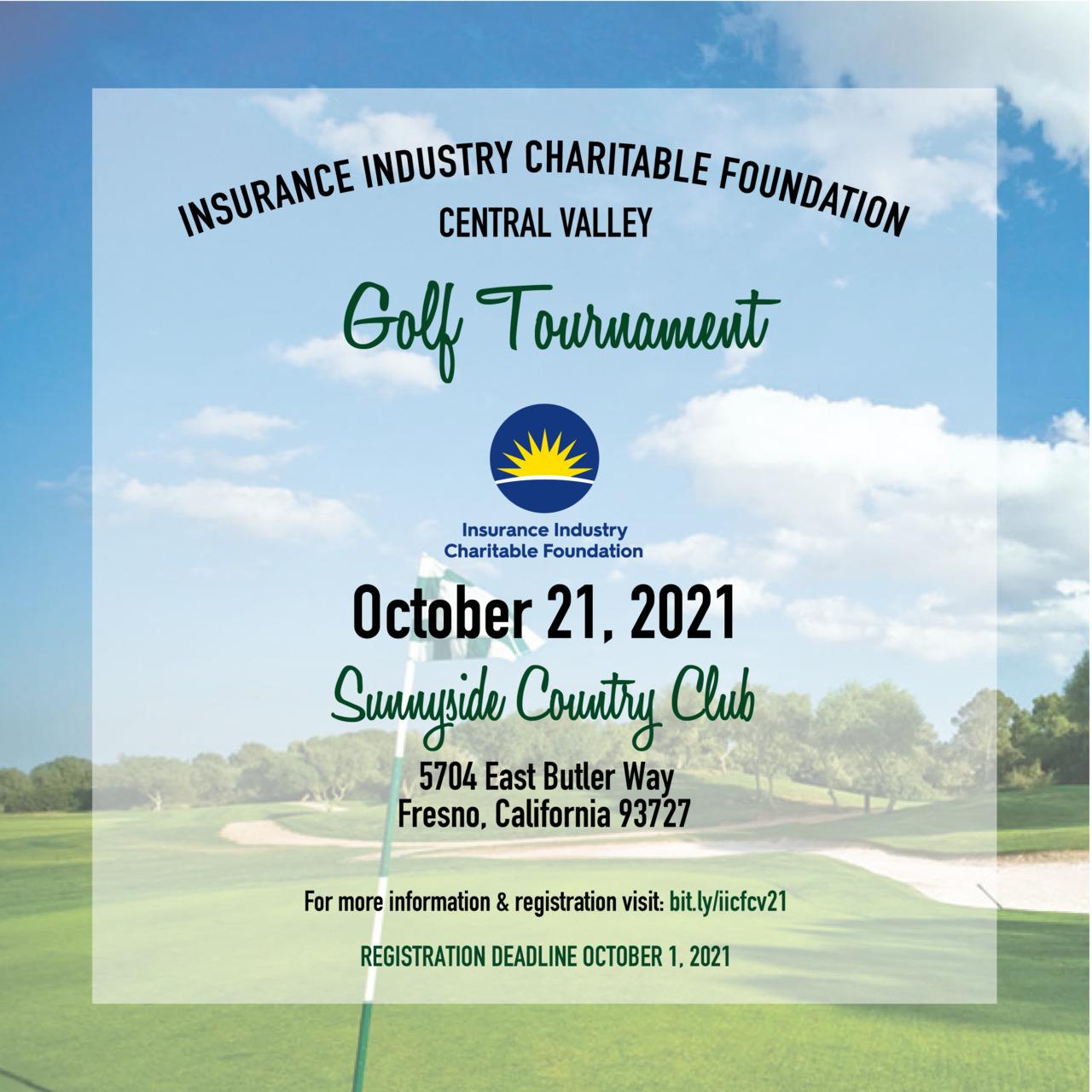 IICF Central Valley Golf Tournament 2021