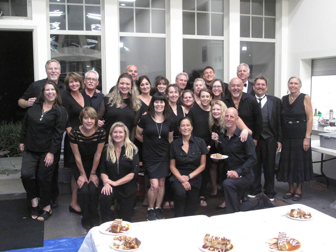 Volunteers Santa Cruz Chef's Dinner 2022