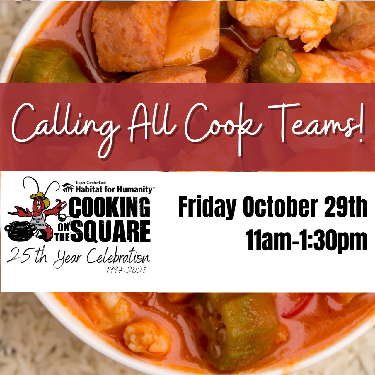 Cooking On the Square: Cook Team Registration 2021