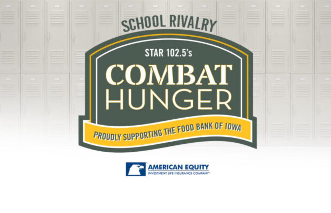 STAR 102.5's Combat Hunger 2021 - School Rivalry