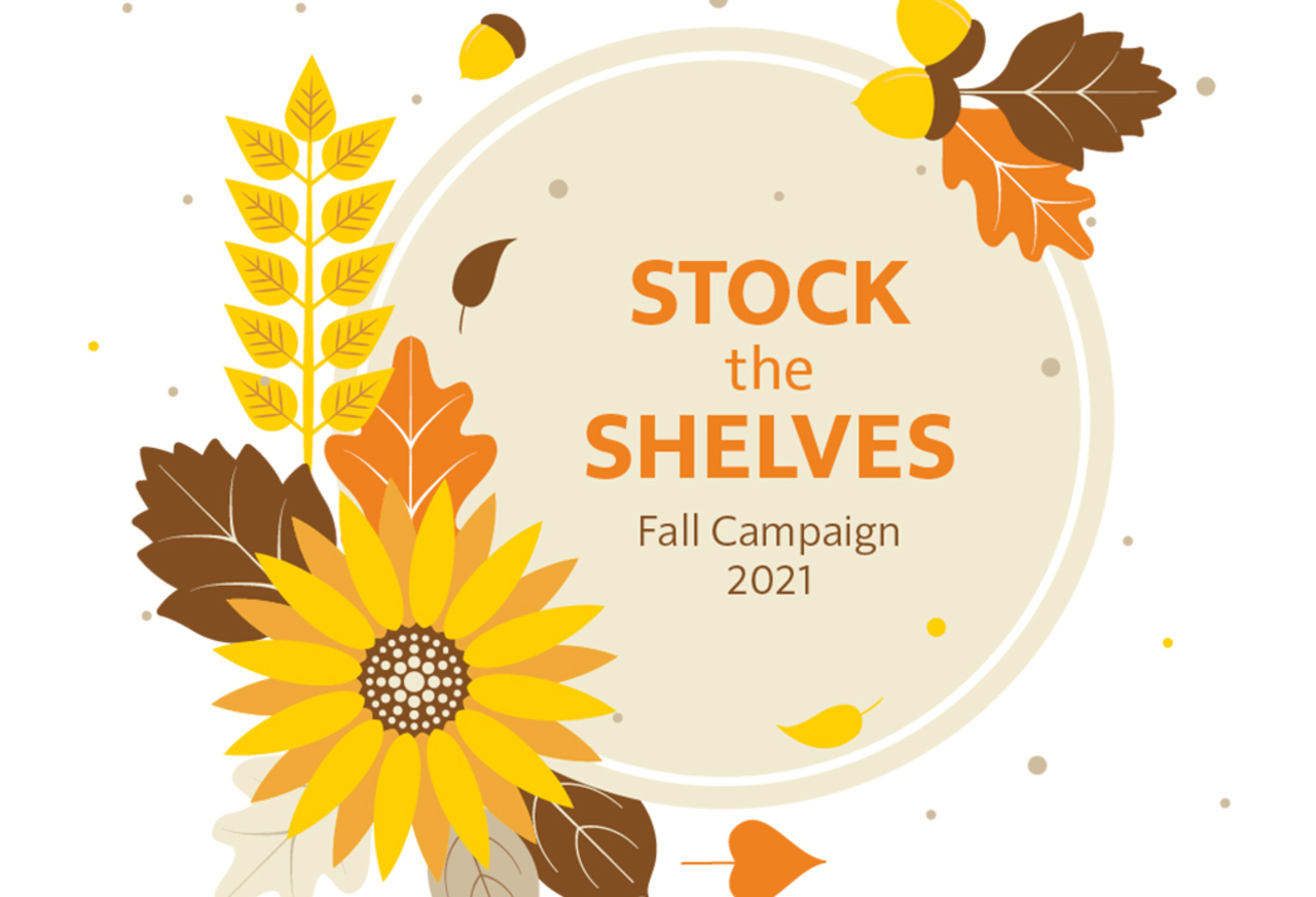 2021 Stock the Pantries campaign